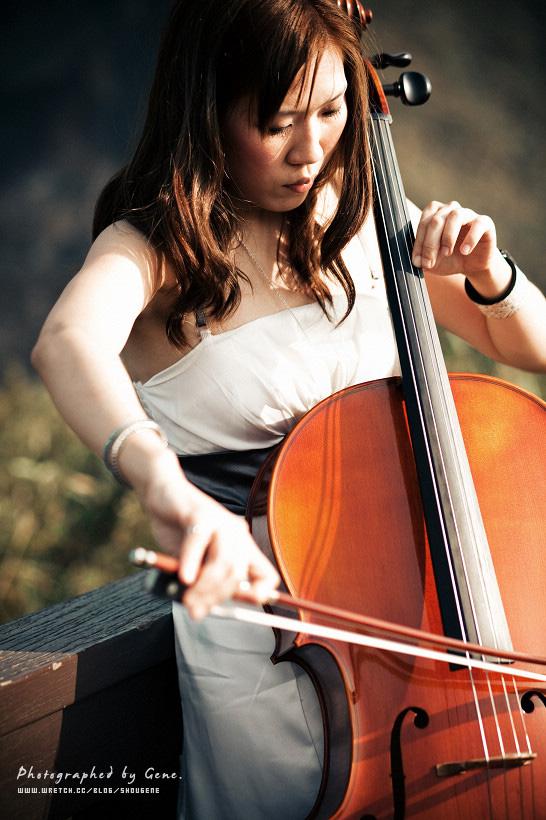 大提琴音樂會海報