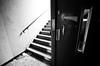 Lift Or Stairs? (LilFr38) Tags: light france abandoned stairs hospital blackwhite lift lumière derelict canonef1740mmf4lusm noirblanc cmc ascenceur escaliers abandonné hôpital isère délabré sainthilairedutouvet lilfr38 canoneos5dmarkii centremédicochirurgical