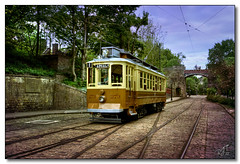 Crich Tramway Museum (rjt208) Tags: bridge museum vintage derbyshire transport tracks tram historic derby overhead 273 crichtramwaymuseum crich electrified canon400d rjt208 hertigate