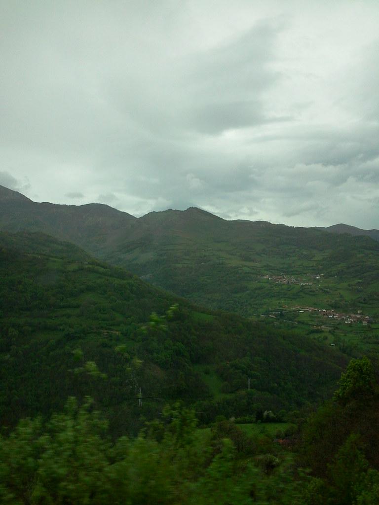 Vistas desde el bus de Asturias