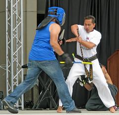 Kick Connection (Beechwood Photography) Tags: fiesta kali martialarts baltimore taekwondo filipiniana towson eskrima 2011 arnis kickconnection patalinghug katipunanmd gomusix filipinofest2011 fiestafilipiniana2011