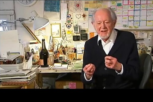Ronald Searle in video interview, 2010