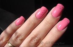 Nail Art de Namorados (Lelê Breveglieri) Tags: nail polish coração nailart unha esmalte francesinha