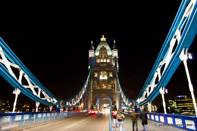 Tower Bridge London With Suspensions, London