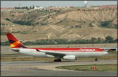 N967CG Airbus A330-243 Avianca (elevationair ✈) Tags: madrid airport madridairport madridbarajasairport barajasairport mad lemd airliners airlines avgeek aviation airplane plane aircraft arrival departure avianca airbus a330 a332 airbusa330243 n967cg