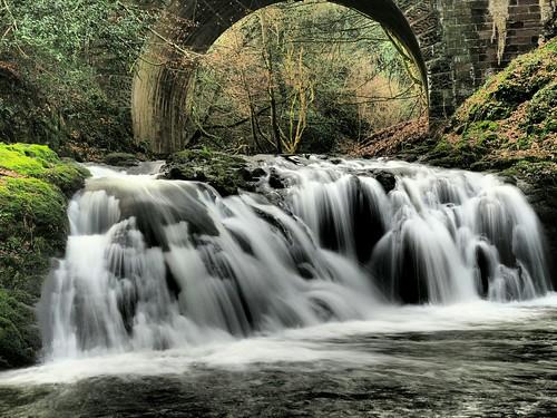 Arbirlot Falls.