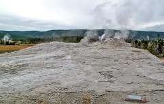Lion Geyser Group Oct 15, 2011, 11-40 PM_edit (krossbow) Tags: uppergeyserbasin yellowstonenationalpark photolemur