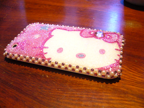 hello kitty iphone case (back only)