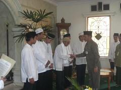 Peresmian Forum Komunikasi Pemuda-Remaja Masjid Al-Mujahidin oleh Bapak Dzul Fu'ad (Camat Ciputat Timur)