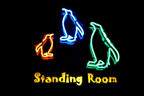 standing room