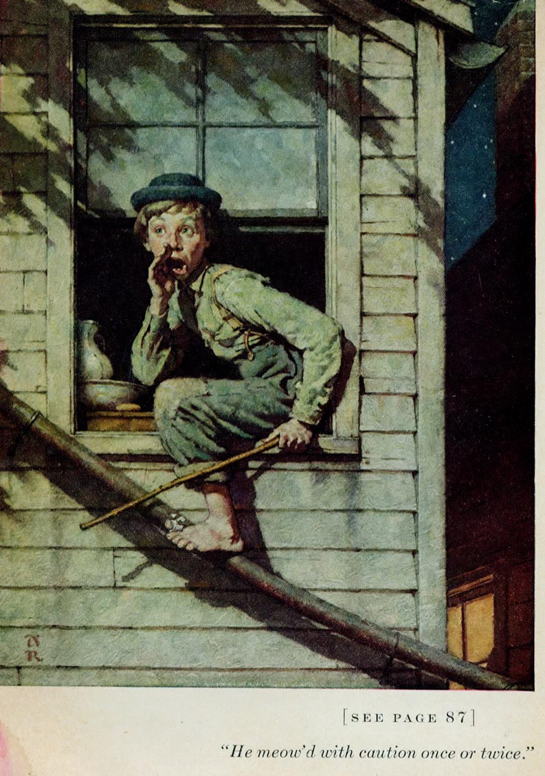 today s inspiration norman rockwell s tom sawyer part  today s inspiration