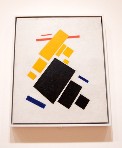 Malevich - Airplane Flying