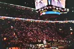 The Anthem (mikeshot) Tags: rose garden portland lakers 2009 anthem