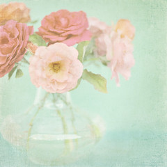 Pastel Roses II (Shana Rae {Florabella Collection}) Tags: pink blue light roses nikon natural crystal pastel background 85mm explore vase monday frontpage d700 shanarae florabellatextures