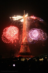 Happy 120th birthday of the Tower Eiffel! (DulichVietnam360) Tags: paris france night french toureiffel 147 bastilleday