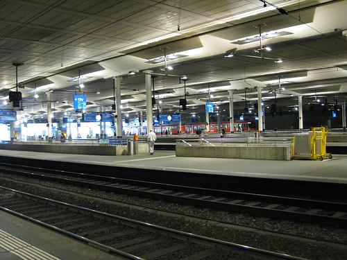 Bahnhof Bern am 24.04.2009