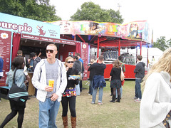 Lovebox Weekender (russelljsmith) Tags: park uk pink friends england music london festival shop fun concert victoriapark europe eating gig drinks drunks 2009 lovebox loveboxweekender 77285mm loveboxweekender2009 lovebox2009 lastfm:event=861454