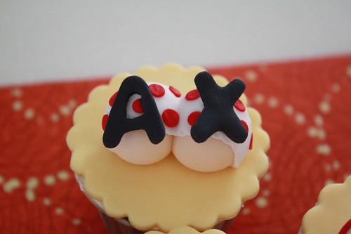 cute butt cupcakes