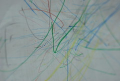 Asher's first artwork.
