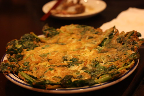Egg & Spinach Dish