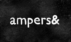 ampers& (Iain Burke) Tags: summer blackandwhite white black art texture illustration photoshop typography design graphicdesign adobephotoshop drawing arts august adobe type iain 2009 bnw wordplay illustrate ampersand ampers august2009 summer2009 iainburke octopocalypse iainvandoucheberg vandoucheberg typeophile