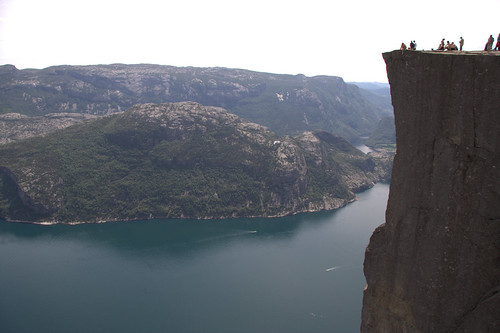 Preikestolen in Norway