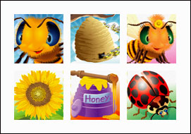 free Honey To The Bee slot game