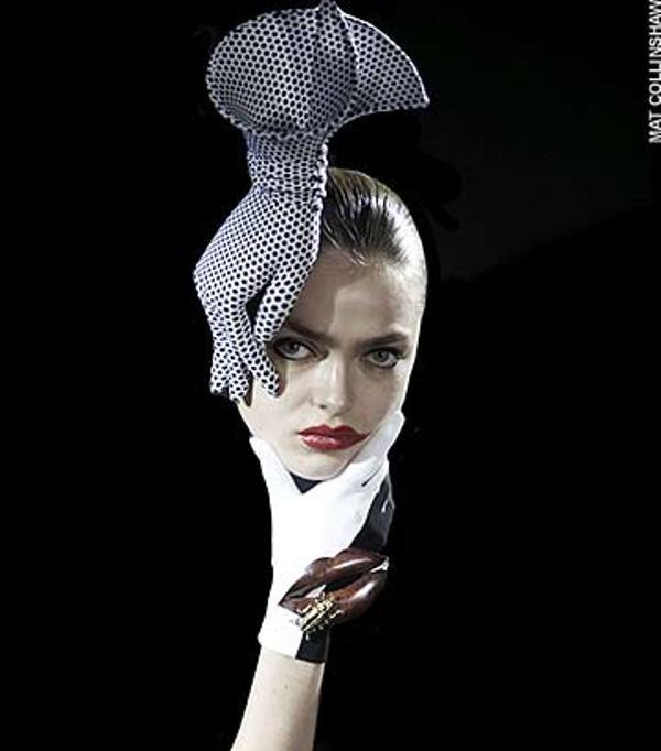 Philip Treacy Couture glove hat