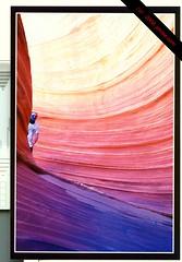 The World Famous Wave - Vermilion Cliffs (jdrose.com) Tags: arizona nikond50 northernarizona publiclands thewave ra4 vermilioncliffs vermilioncliffsnationalmonument wetprocess pertrifiedsanddunes blmnationalmonument wetprocessra4 ra4fujicrystalarchive