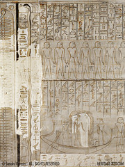 "Horemheb's Tomb Wall - ""Incompleted"" (Sandro Vannini) Tags: archaeology photography ancient tomb egypt artists egyptian pharaoh walls discovery sandro antiquity vannini 19thdynasty amduat bookofgates horemheb heritagekey heritagesite1214 kv57"