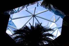 Mediterranean Sky (hogsvilleBrit) Tags: blue reflections mediterranean ship palmtrees aida