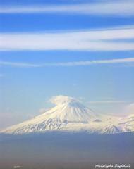 Ararat, Sis Mount - Explored (Moustapha B) Tags: blue sky clouds armenia sis yerevan masis ararat   explored   canong9 march2009 88
