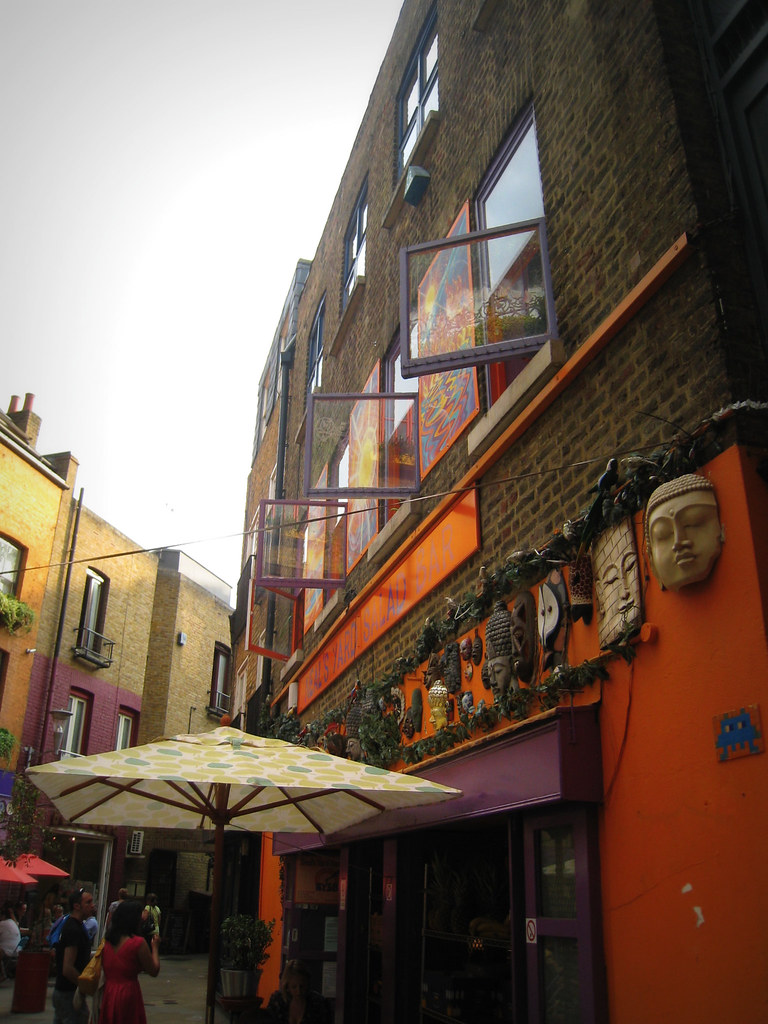 Space Invider in Neal's Yard