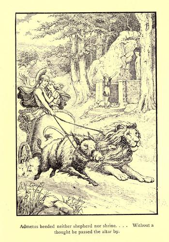030-El sacrificio de Alcestis-Los niños del Alba 1908- Frank Pape Cheyne