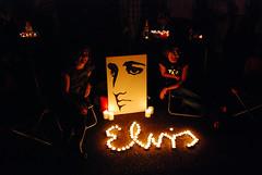Elvis Signature Shrine (joespake) Tags: death memphis elvis week graceland candlelightvigil