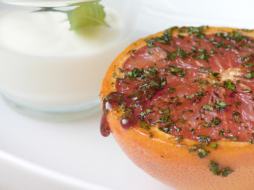 Caramelized Ruby Grapefruit