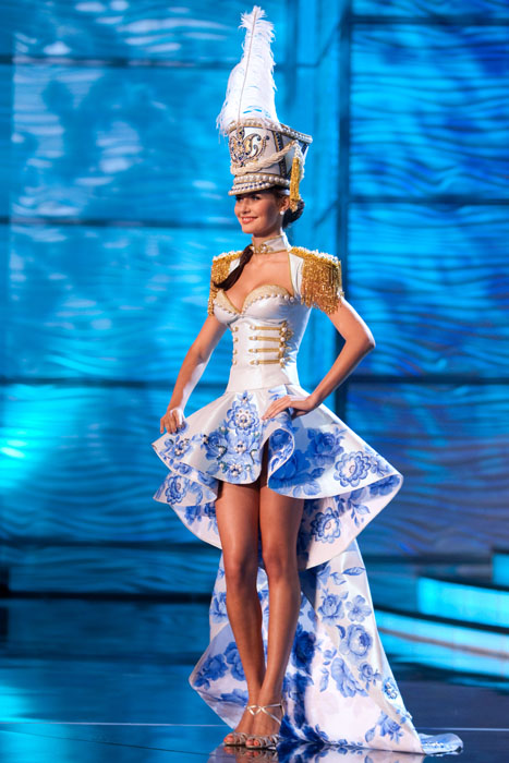 Traje Típico de Miss Rusia