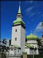 Church of Our Lady of Kazan (foje64) Tags: church fire wooden tallinn estonia sweden moscow russian orthodox neoclassical woodenchurch russianorthodoxchurch patriarchate russianorthodox platinumheartaward greatnorthernwar moscowpatriarchate churchofourladyofkazan osm:way=26897507