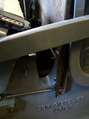 Detail of my Swiss-made Gietz Art Platen printing press (typoretum) Tags: ilt ilovetypography gietz printingpressilovetypographycom
