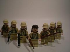 Brickarm'ed Allies (PhiMa') Tags: lego wwii ww2 axis weapons allies worldwartwo brickarms