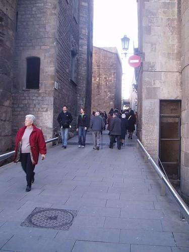 Calles de Barcelona Foto 3