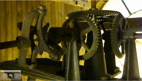 Gloucester City Hall Tower Clock Mechanism