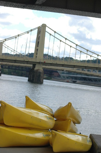 In the next few years, someone will open a kayak rental shop on the Scioto Mile