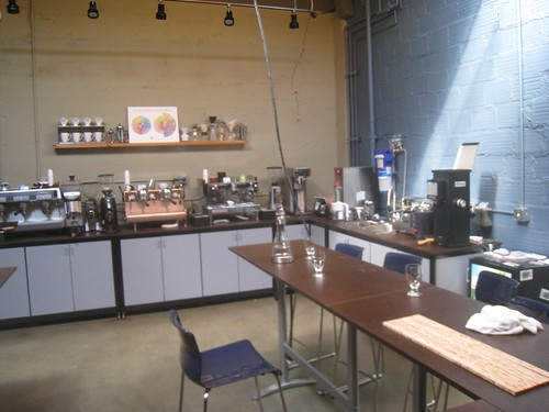 coffee lab, Visions Espresso