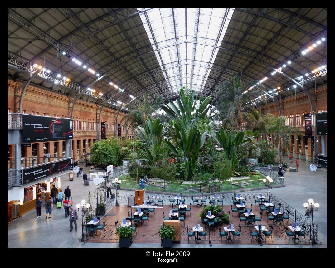 Interior Estación RENFE Atocha II