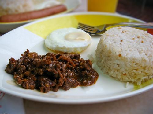 Beef Tapa Jollibee Breakfast Meal