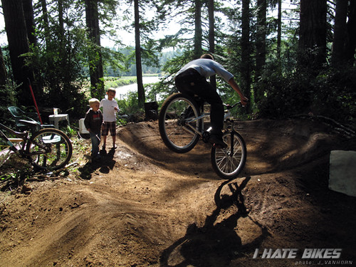 A ridable track