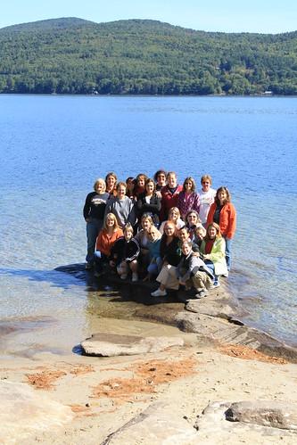 Women's Retreat 2009 Group Photo