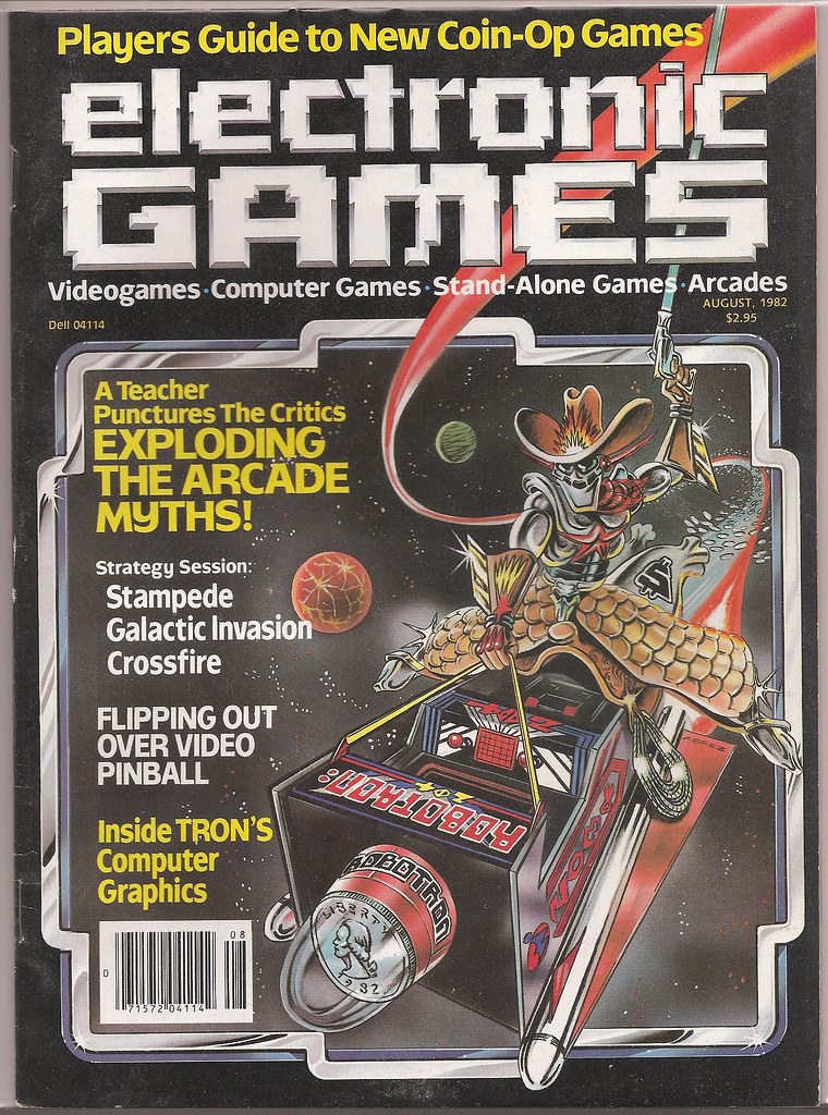 Electronic Games #6 August 1982
