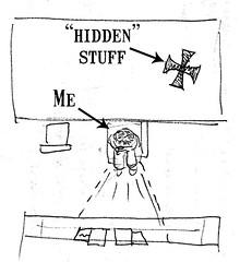 Clarification: Room Map of Will's Hidden Stuff
